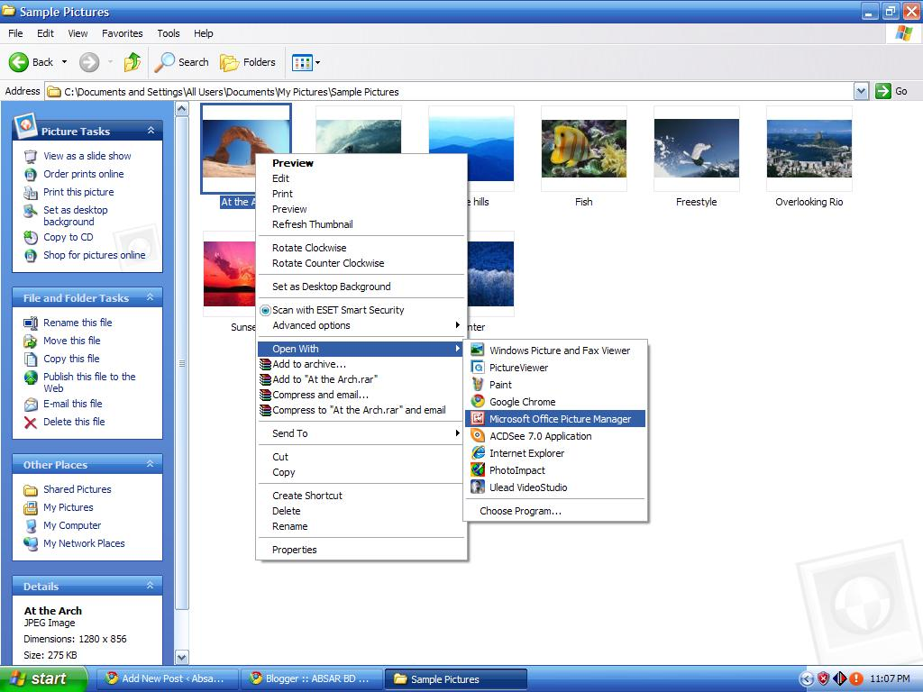 Resize your picture with MS Office Picture Manager easily [With Snapshots] | Absar's Blog